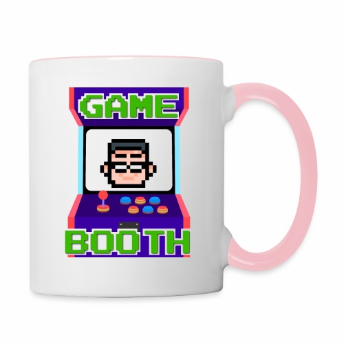 GameBooth Icon Logo - Contrasting Mug