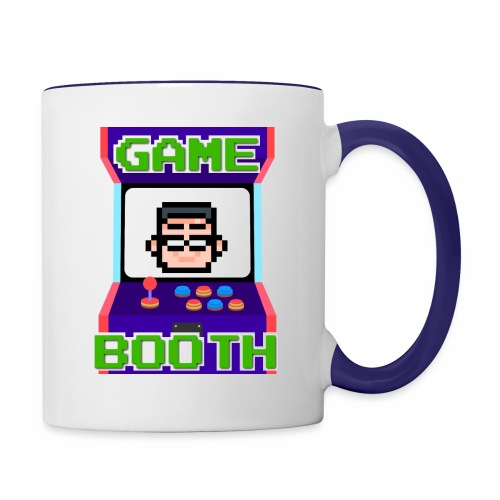 GameBooth Icon Logo - Contrasting Mug
