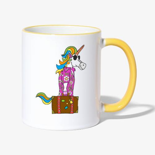 Unicorn trip - Mug contrasté