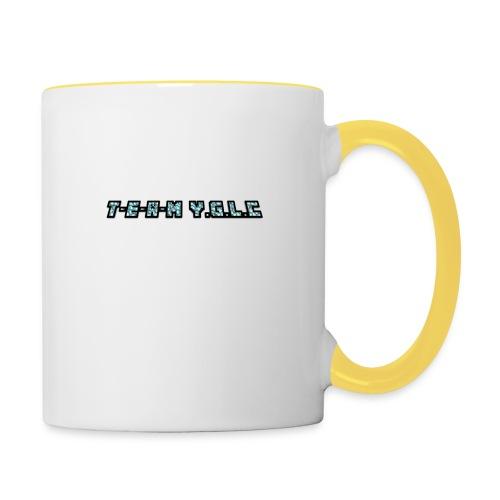 Limited Edition T-E-A-M-YGLC T-shirt - Contrasting Mug
