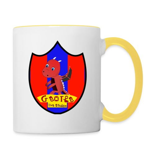 George The Dragon - Contrasting Mug