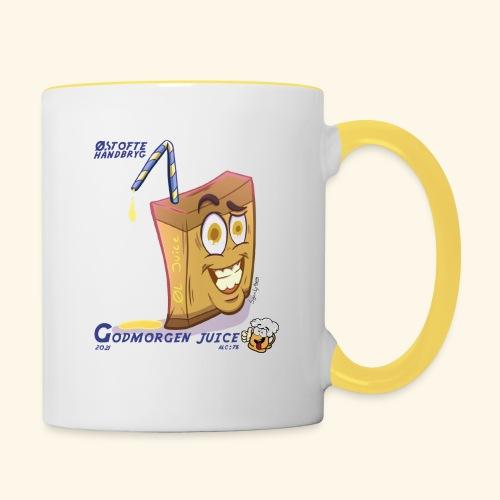 godmorgen juice - Tofarvet krus