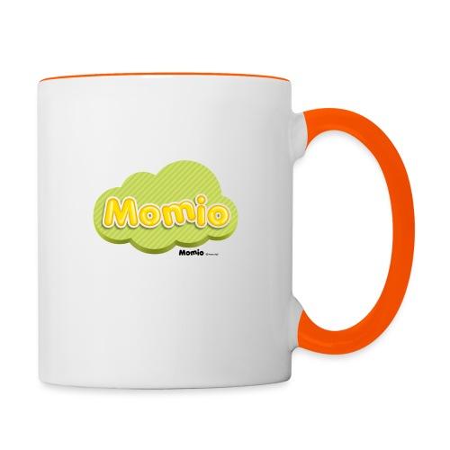 Logo van Momio - Mok tweekleurig