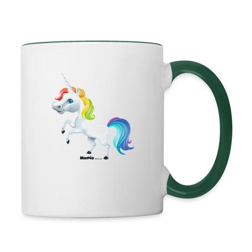Regenboog eenhoorn - Mok tweekleurig