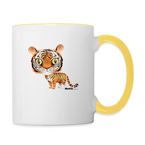 Tiger - Tasse zweifarbig