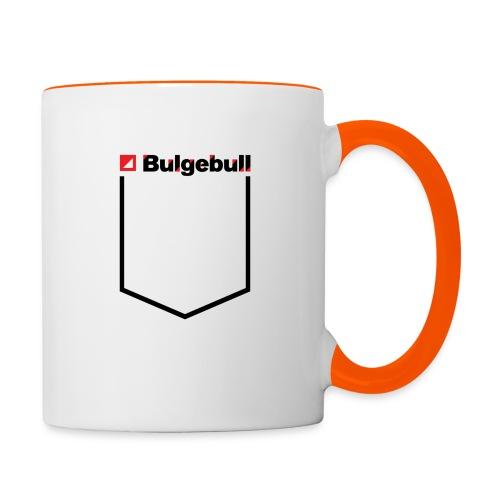 BULGEBULL-POCKET2 - Taza en dos colores