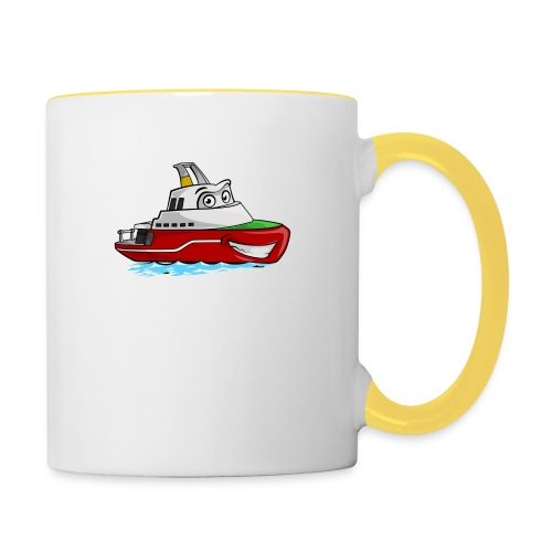 Boaty McBoatface - Contrasting Mug
