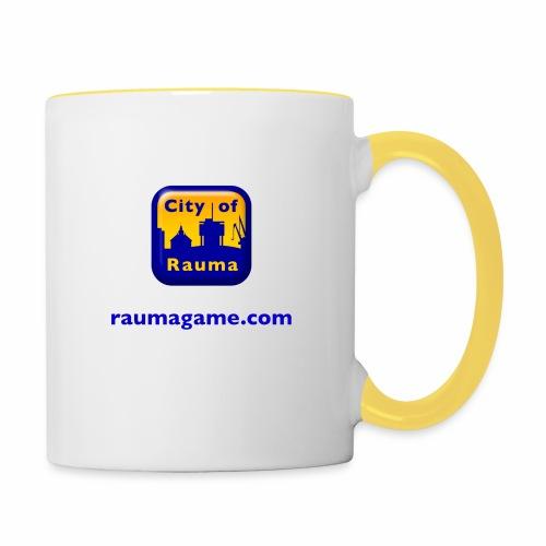 Raumagame logo - Kaksivärinen muki