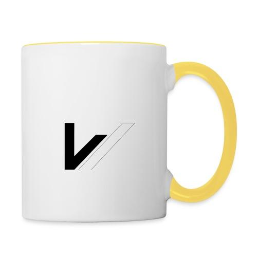 W - Mug contrasté