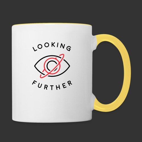 Looking Farther - White - Contrasting Mug