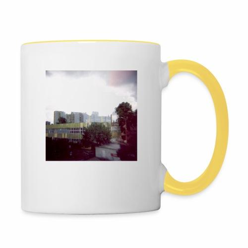 Original Artist design * Blocks - Contrasting Mug