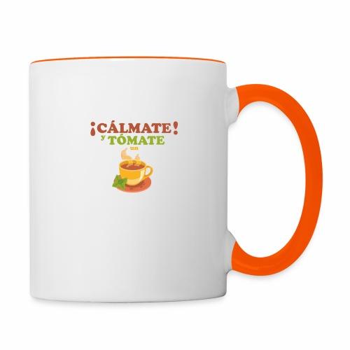 Cámate y tómate un Té - Taza en dos colores
