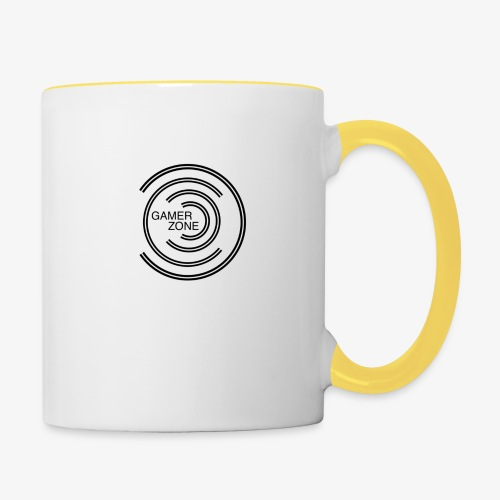 logo gamer zone - Mug contrasté