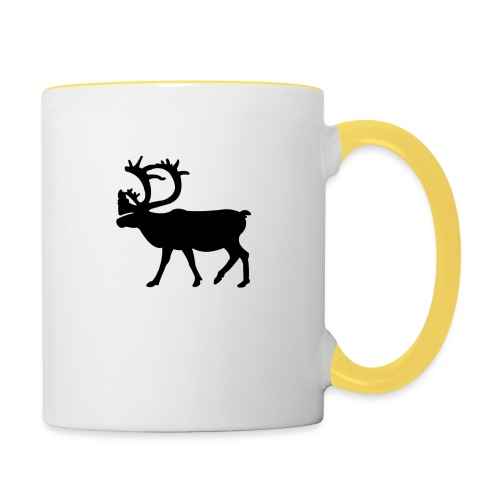 Le Caribou - Mug contrasté
