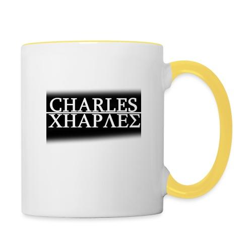 CHARLES CHARLES BLACK AND WHITE - Contrasting Mug