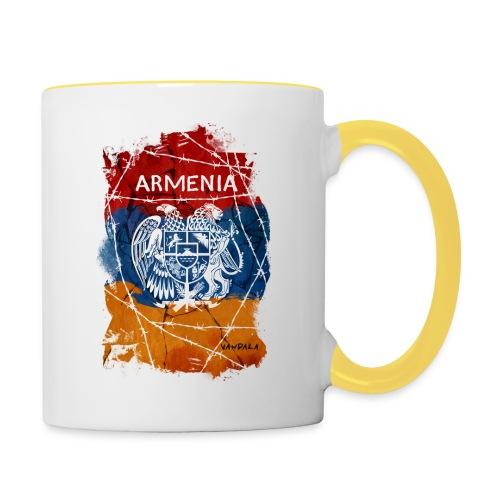 Armenia - Tasse zweifarbig