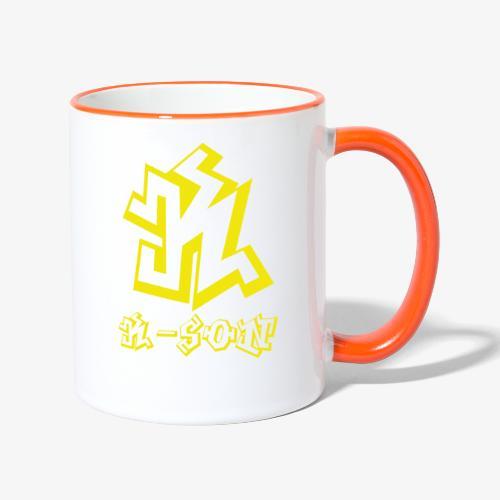 ka3y png - Mug contrasté