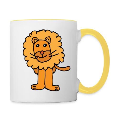 Lion png - Mug contrasté