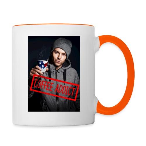 Coffee addiction - Contrasting Mug