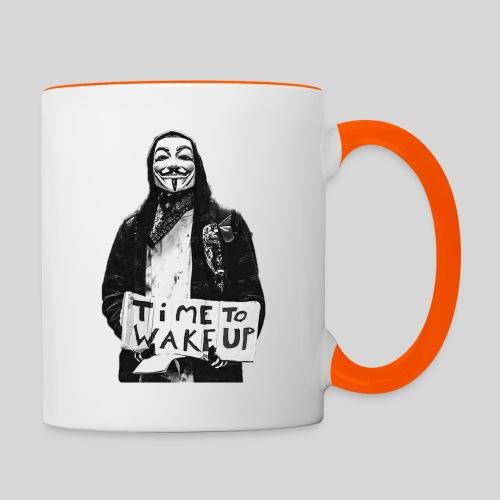Time to wake up - Mug contrasté