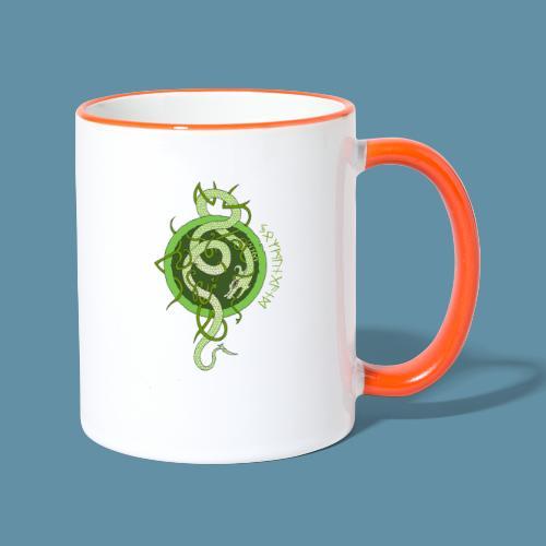 Jormungand logo png - Tazze bicolor