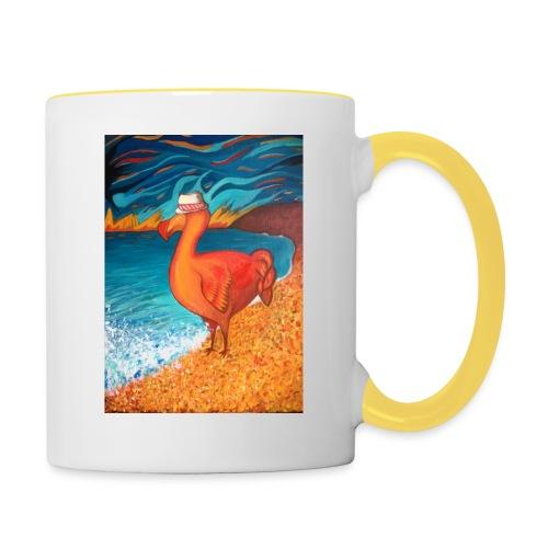 Dodo chapeauté - Mug contrasté