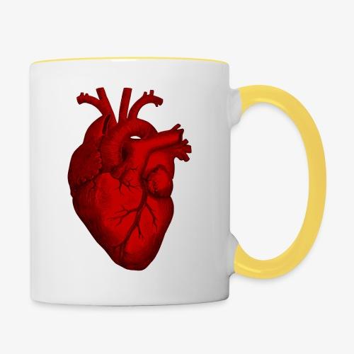 Heart - Contrasting Mug