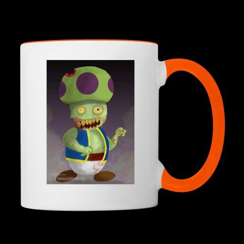 SuperMario: Zombie Toad - Mok tweekleurig