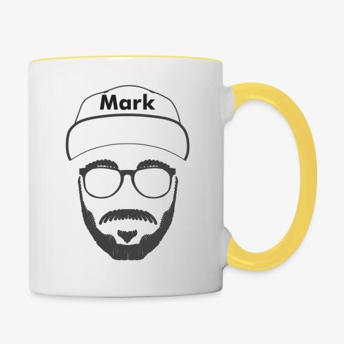 Mark - Nicht Kaddafelt - Tasse zweifarbig