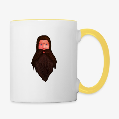 Tête de nain - Mug contrasté