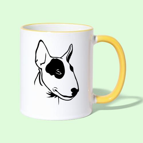 Bull Terrier - Mug contrasté