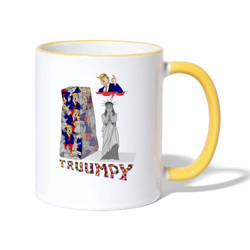 truumpy Trump jusqu'où le niveau bas politique FS - Mug contrasté