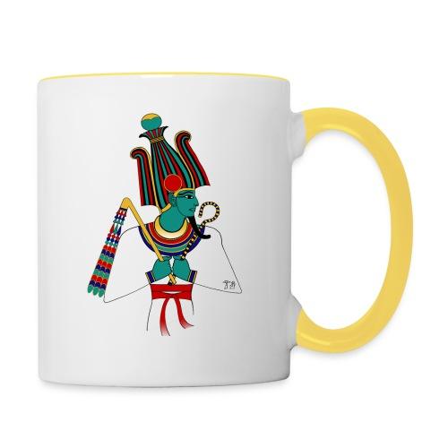 ÄGYPTEN - Osiris - altägyptische Gottheit - Tasse zweifarbig