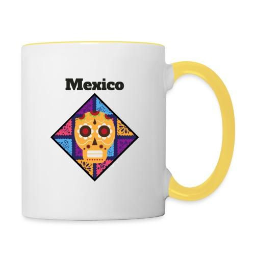 Mexico Calavera - Taza en dos colores