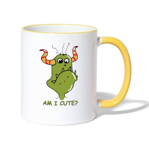 Cute monster - Contrasting Mug