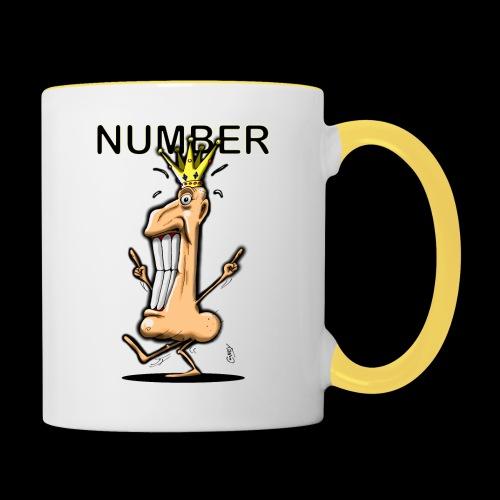 Number One! - Contrasting Mug