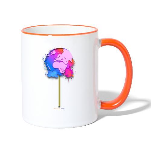TShirt lollipop world - Mug contrasté