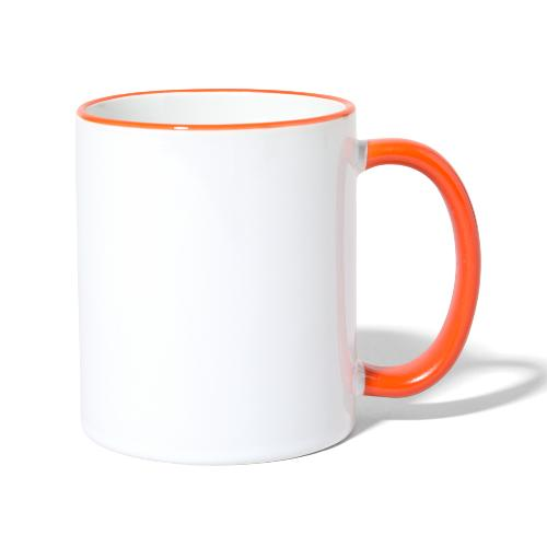 HazyShirt03awahnsinninv - Tasse zweifarbig