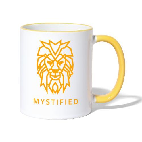 Mystified Oranje Leeuw - Mok tweekleurig