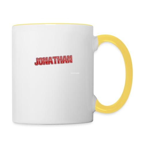Jonathan - Tvåfärgad mugg
