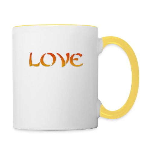 LOVE - Tazze bicolor