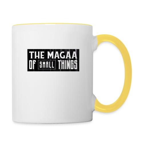 The magaa of small things - Contrasting Mug