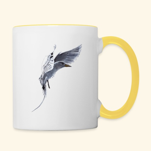 Weißschwanz Tropenvogel - Tasse zweifarbig