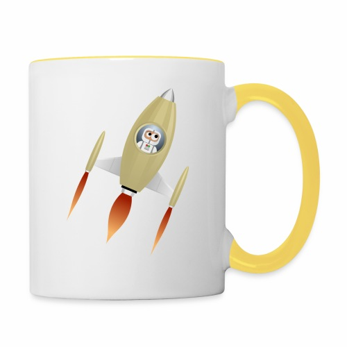 Spaceship - Mug contrasté