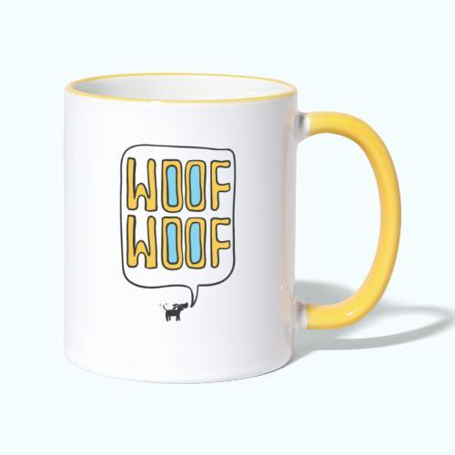 Woof Woof - Contrasting Mug