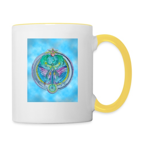 Mother Earth - Tasse zweifarbig