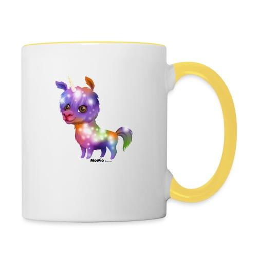 Lamacorn - Tasse zweifarbig