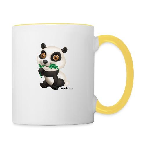 Panda - Tofarget kopp