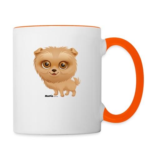 Dog - Tasse zweifarbig