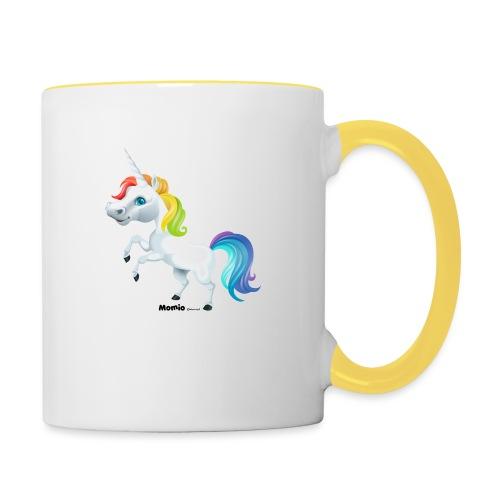 Rainbow enhjørning - Tofarget kopp